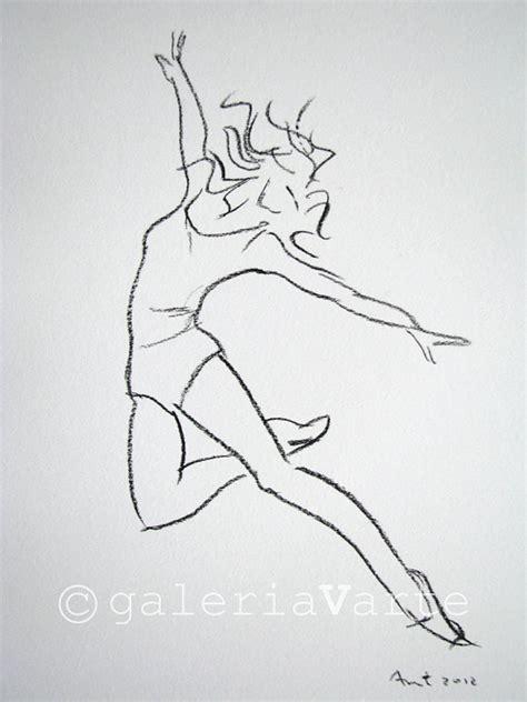dessin de danseuse moderne jazz articles similaires 224 charbon de bois dessin danseuse moderne original europeanstreetteam