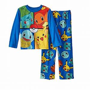 pokemon big boys 2 piece fleece pajama set 8