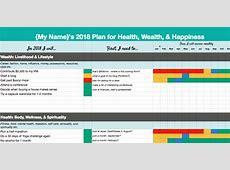 2018 Goal Setting Template + Ideas