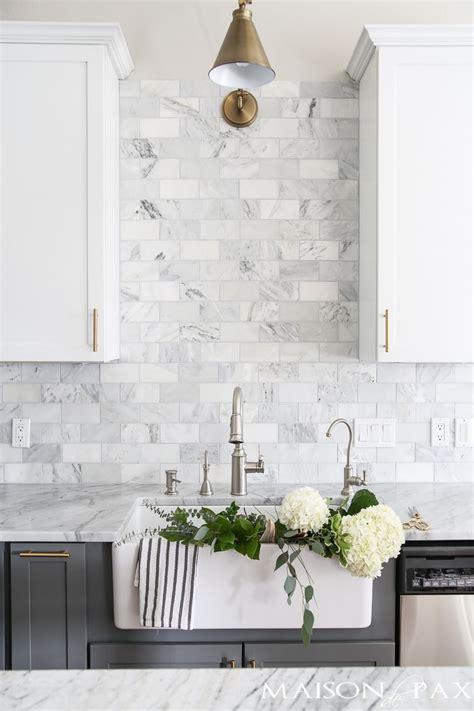 marble tile backsplash kitchen best 25 kitchen backsplash ideas on