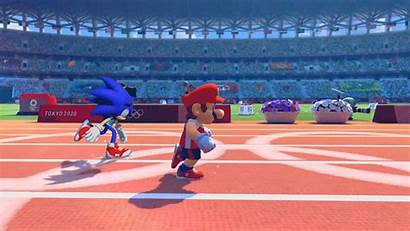 Sonic Mario Characters 2d Olympics Play Lets