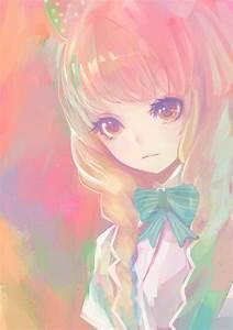 beautiful anime girl on Tumblr