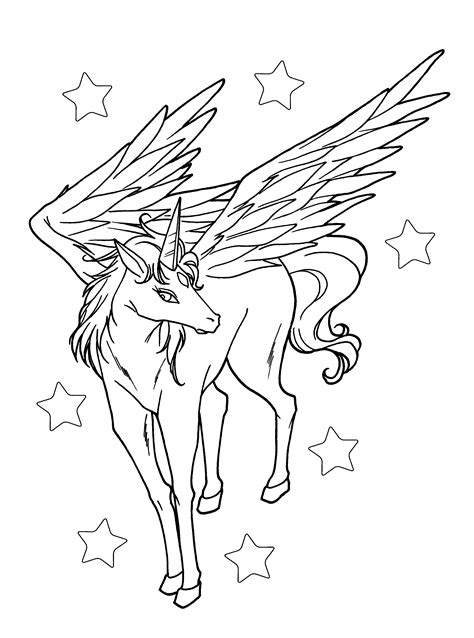 flying unicorn coloring pages  getcoloringscom  printable colorings pages  print