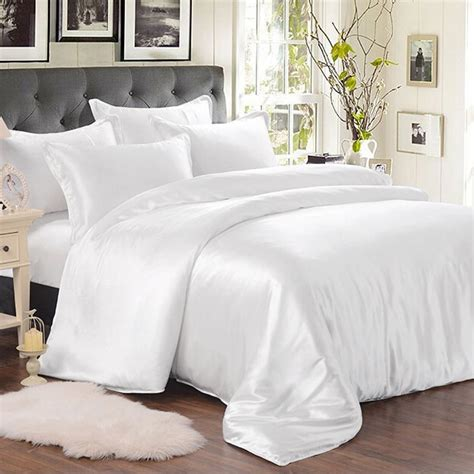 White Silk Bed Linen From The Finest Mulberry Silk