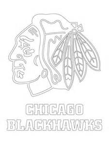 Blackhawks Pumpkin Carving Stencil by Chicago Blackhawks Logo Coloring Page1 Jpg 1 200 215 1 600
