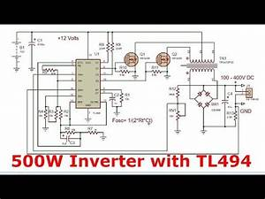 Power Inverter With Tl494