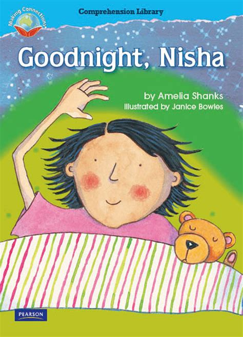 grade reading comprehension pearson level connections nisha making goodnight library amelia shanks 1st