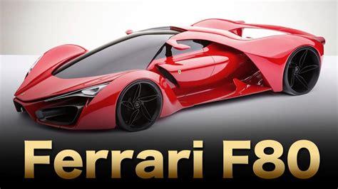 Upcoming Ferrari F80 Concept || Review Price ||