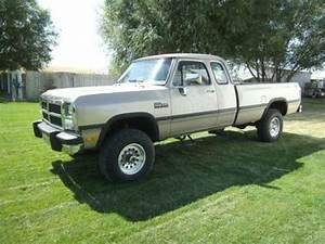 Sell Used 1992 Dodge W250 Pickup Truck Cummins 5 9 12