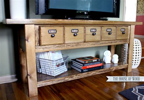15 Diy Tv Stands You Can Build Easily In A Weekend
