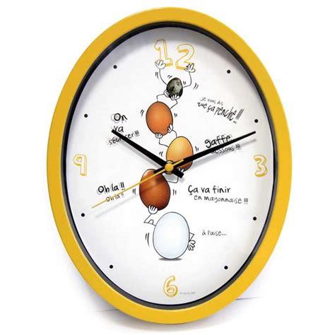 horloge cuisine horloge cuisine quot ludik quot jaune
