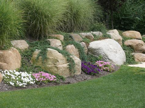 landscape with boulders landscaping with large rocks google search outdoors pinterest rock landscaping and