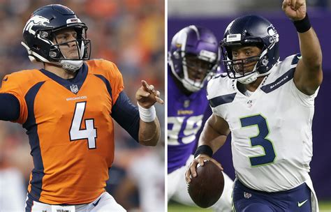 seattle seahawks  denver broncos week  national media