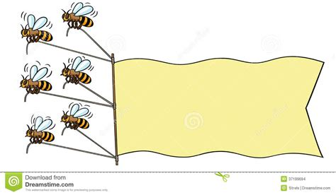 Bees With Banner Stock Vector Illustration Of Flying. Food Packaging Stickers. Vinyl Truck Lettering. Court Murals. Laat Logo. Telephone Call Signs. Motorcycle Dc Decals. Kansas City Chiefs Decals. Iphone 5 Logo