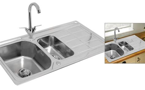 kitchen sink kit 1 5 bowl stainless steel kitchen sink with complete 2757