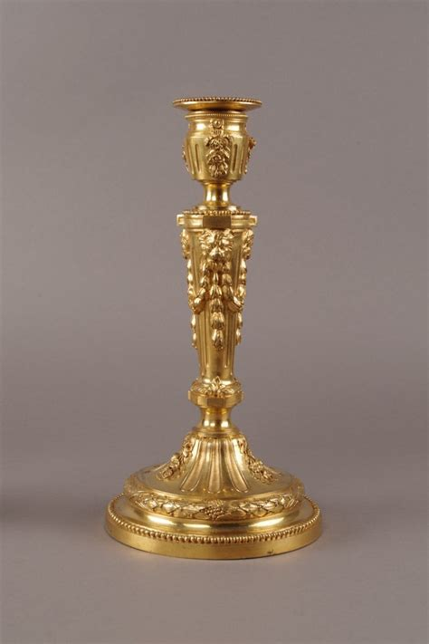 émile gallé 1846 1904 table a late 19th century pair of candlesticks ref 44850