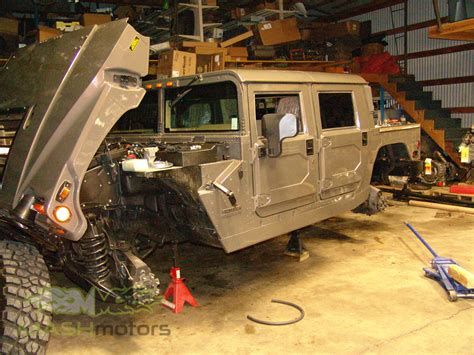 hummer  humvee build mash motors