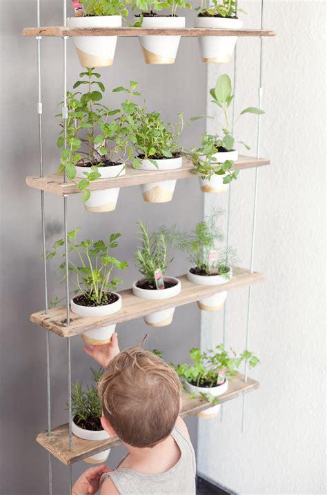 kitchen garden ideas custom potted hanging herb garden diy fresh
