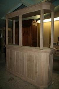 fabriquer un comptoir de bar en bois image sur le design With fabriquer un comptoir de cuisine en bois