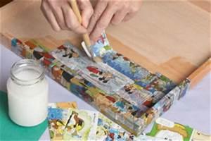 Selber Machen Zeitschrift : bastelidee memoboard selber machen tafel basteln aus bilderrahmen mit tafelfarbe und comicheft ~ Watch28wear.com Haus und Dekorationen