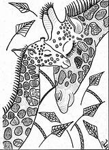 Coloring Giraffe Adult Giraffes Colouring Adults Mandala Sheets Animal Zentangle Animals Drawings Printable Sketch Gorgeous Horse Bead Wild sketch template