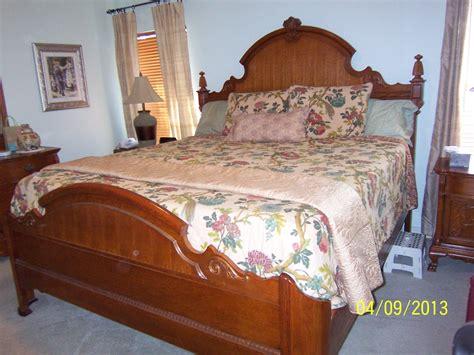 Lexington Victorian Sampler King Mansion Bed. I Have The