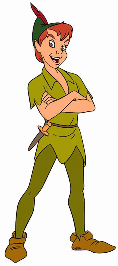 Clipart Peter Pan Clip Pete Standing Arms