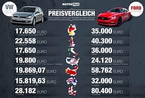 Ford Mustang Kosten : autopreise aus aller welt ford mustang und vw golf ~ Jslefanu.com Haus und Dekorationen