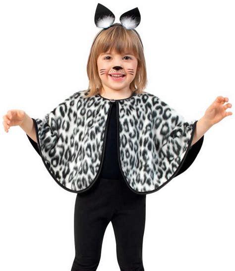 cape katze leopard leo tiger kinder karneval fasching