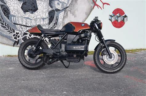 k100 cafe racer bmw k100 cafe racer by weston customs bikebound