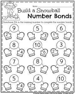 january kindergarten worksheets kindergarten activities