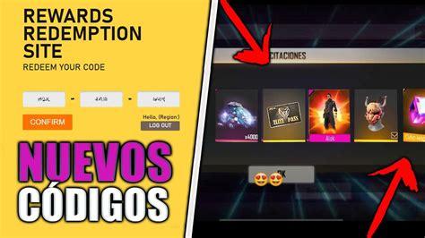 Item rewards are shown in vault tab in game lobby; NUEVOS CÓDIGOS PARA REGALOS PERMANENTES EN FREE FIRE ...