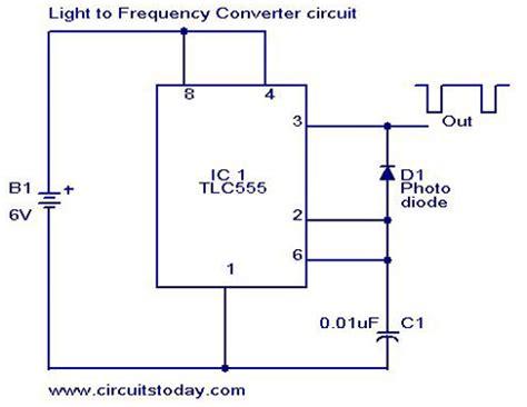 Light Frequency Converter Circuit Diagram World