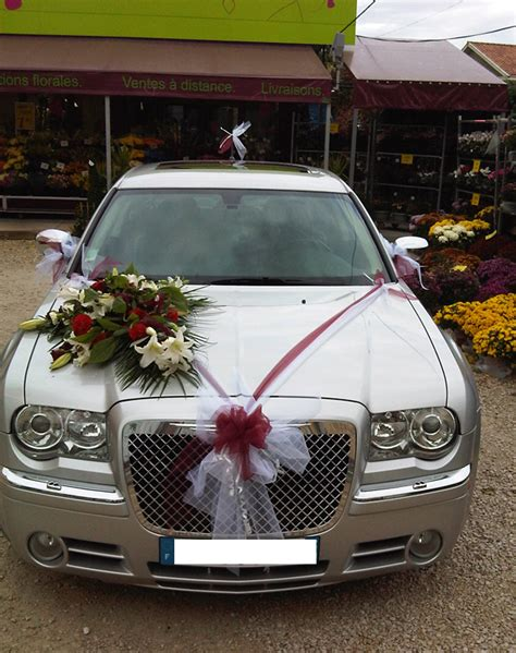 decoration mariage voiture simple