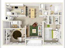 Floorplan Bocage Village Apartments