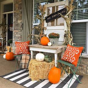A, Bountiful, Collection, Of, Outdoor, Fall, Decor, Ideas