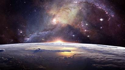 Universe Galaxy Stars Space Widescreen Background