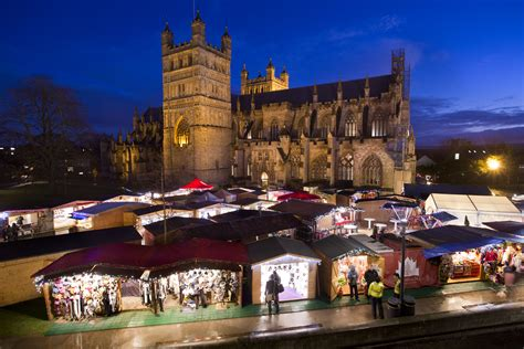 exeter s first christmas market soars with success the