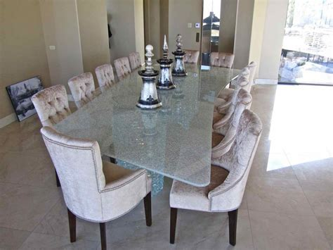 Dining Room Centerpiece Ideas by Glass Tables Dining Sans Soucie Art Glass