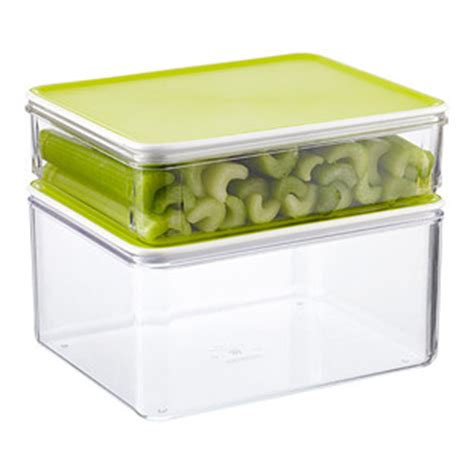kitchen storage boxes with lids modulbox food storage with lime lids the container 8609