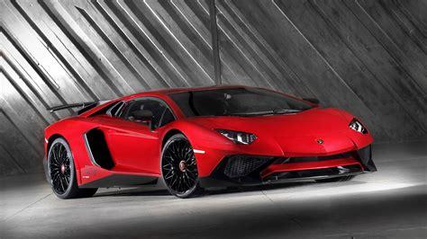 Lamborghini Aventador Lp750 4 Sv, Car, Red Cars Wallpapers