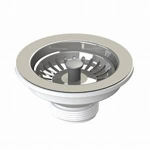 Bonde D évier : bonde panier en inox pour vier de cuisine 115 mm ~ Melissatoandfro.com Idées de Décoration