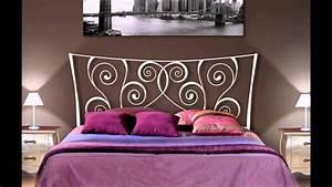 Idee Deco Tete De Lit : t tes de lit en fer forg id es pour la d coration des chambres youtube ~ Melissatoandfro.com Idées de Décoration
