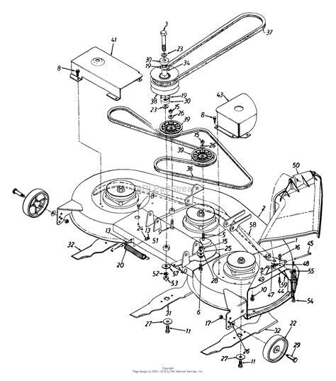 Mtd 46 Inch Drive Belt Diagram by Mtd 135t696h190 Lawn Tractor Lt 165 1995 Parts Diagram