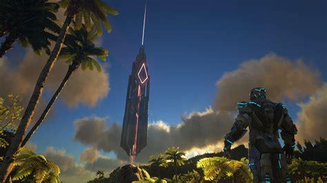 ark tek tier update bringt laserkanonen fuer dinos