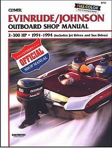 Evinrude Johnson Outboard Repair Manual 2