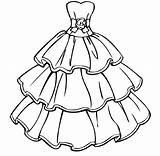 Coloring Dresses Printable Barbie Educative Sheets Whitesbelfast Educativeprintable Credit Popular sketch template