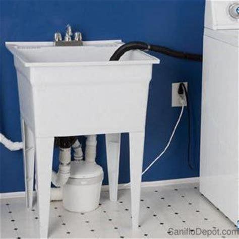 laundry sink pump reviews saniflo saniswift gray water pump