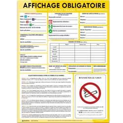panneau affichage obligatoire entreprise gratuit