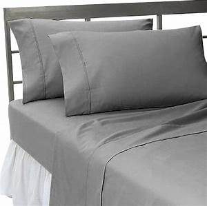 600tc 100 egyptian cotton solid elephant grey california With california king pillow cases